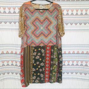 Anthropologie TINY boho dress size Xl